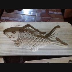 Khuôn bánh trung thu cá chép