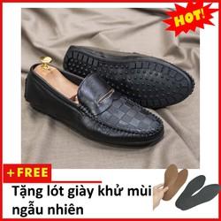 Giày Mọi Nam Đẹp Đế Khâu Vân Caro Cực Phong Cách - M118|10319