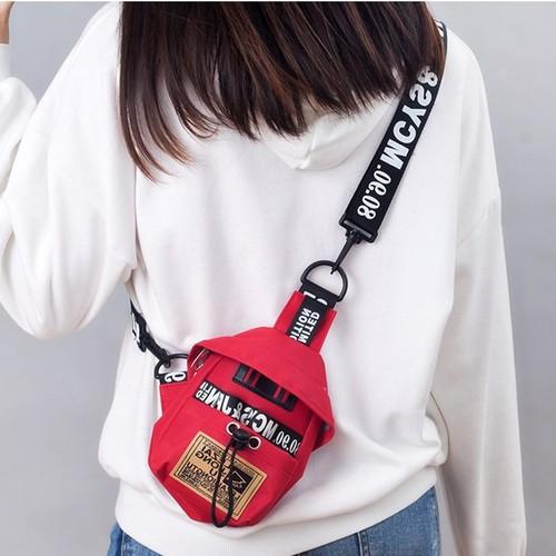Túi xách đeo chéo sport mini siêu tiện dụng và vô cùng đẹp mắt -túi vải được chọn màu