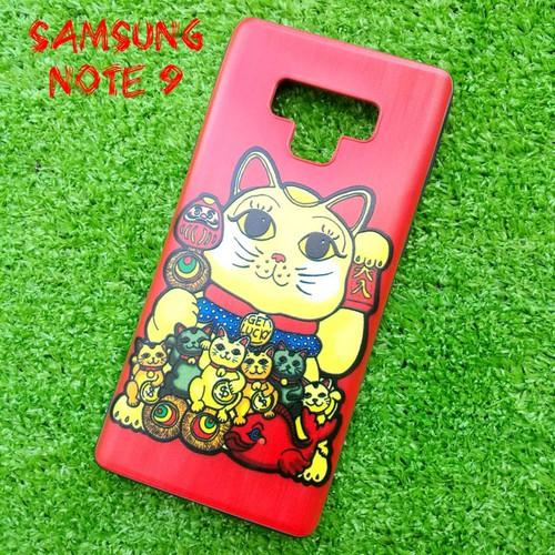 Ốp Lưng Samsung Note 9 Mèo Thần Tài 2019 8 Màu
