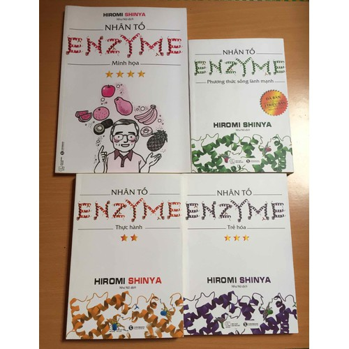 Nhân Tố Enzyme Trọn Bộ 4 Cuốn