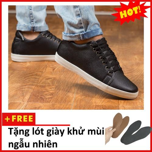 Giày Thể Thao Nam Màu Đen Tăng Chiều Cao 6Cm Không Hề Lộ Cực Đẹp - Cực Chất - M360-DEN-11319