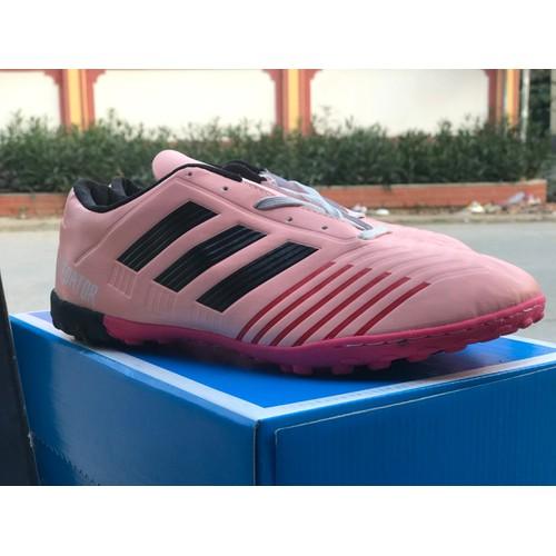 giày bóng đá PREDATOR hồng phấn