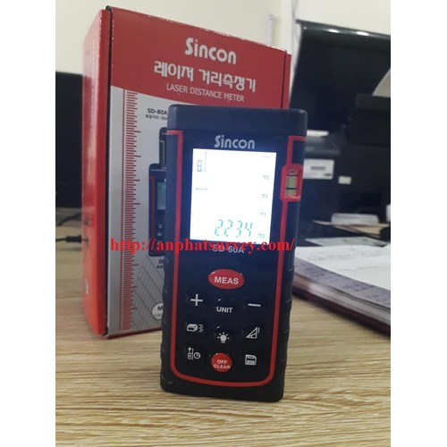 Máy đo xa cầm tay laser sincon SD-60A