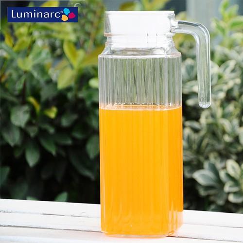 Bình nước thủy tinh Luminarc Quadro G2666 1.1 lít