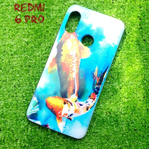 Ốp Lưng Xiaomi Redmi 6 Pro Cá Chép Koi Song Ngư