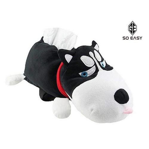 Hộp khăn giấy trên xe hơi, túi treo đựng khăn giấy hình chú chó Husky siêu đáng yêu cho xe ô tô, văn phòng, xe hơi, bàn ăn, phòng khách_C003-HKGC - 6546317 , 16615893 , 15_16615893 , 199000 , Hop-khan-giay-tren-xe-hoi-tui-treo-dung-khan-giay-hinh-chu-cho-Husky-sieu-dang-yeu-cho-xe-o-to-van-phong-xe-hoi-ban-an-phong-khach_C003-HKGC-15_16615893 , sendo.vn , Hộp khăn giấy trên xe hơi, túi treo đựng