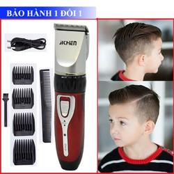 [ TĂNG ĐƠ + HỖ TRỢ 20K SHIP ] Tông đơ cắt tóc gia đình Jichen 0817 tặng kèm lược và 4 cữ cắt tóc an toàn cho trẻ nhỏ