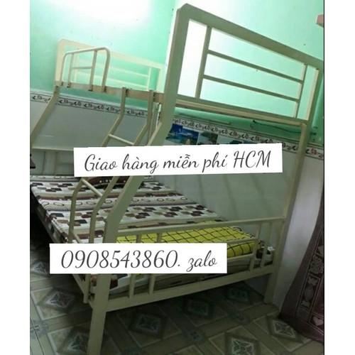 Giường tầng sắt hộp 1m2 x 1m6 x2m - 6534222 , 16608082 , 15_16608082 , 3500000 , Giuong-tang-sat-hop-1m2-x-1m6-x2m-15_16608082 , sendo.vn , Giường tầng sắt hộp 1m2 x 1m6 x2m