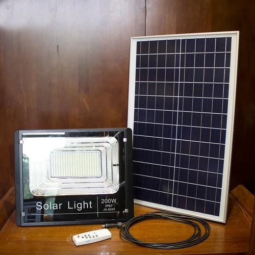 Đèn LED Năng Lượng Mặt Trời SOLAR LIGHT JD-8200 - 200W