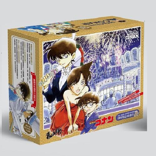 Hộp quà conan hộp lớn có bookmark postcard huy hiệu ảnh dán ảnh thẻ poster anime giftbox