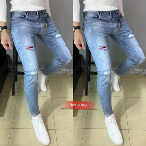 Quần jean nam chuẩn form