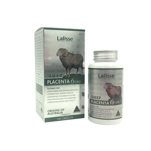 Viên uống nhau thai cừu Lalisse Sheep Placenta Capsule 65000