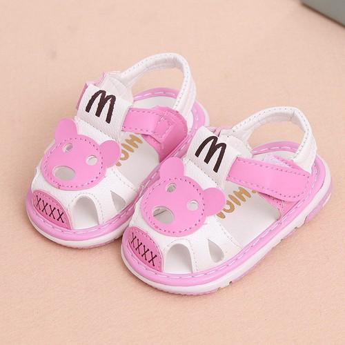 Giày tập đi đế mềm cho bé trai bé gái