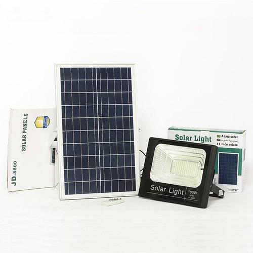 Đèn LED Năng Lượng Mặt Trời SOLAR LIGHT JD-8800 - 100W