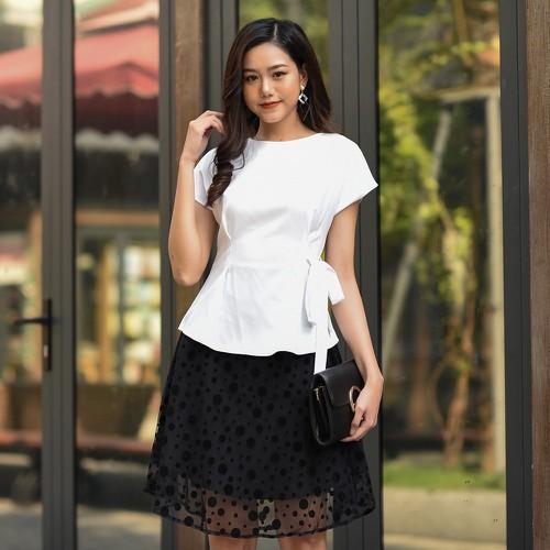 Chân váy xòe nữ, thời trang công sở cá tính HA-CV78.D