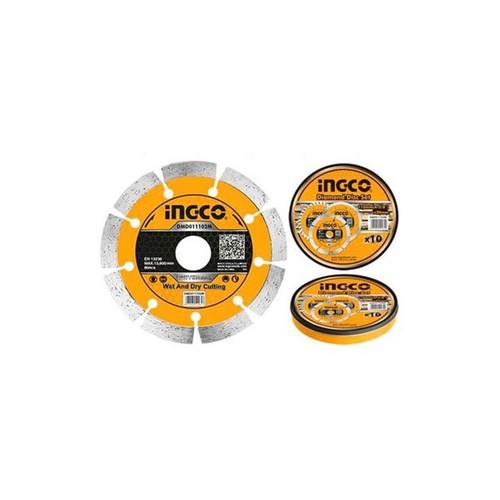 110x20mm Hộp đĩa cắt gạch khô 10 lưỡi INGCO DMD011102M