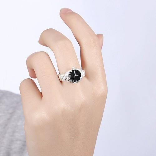 Nhẫn nữ đẹp Nhẫn đẹp Nhẫn phụ kiện dự tiệc nhẫn bạc