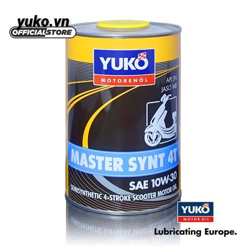 Nhớt xe tay ga cao cấp YUKO MASTER SYNT 10W-30 SN