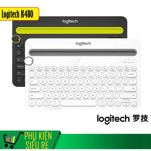 Bàn phím Bluetooth Logitec K480