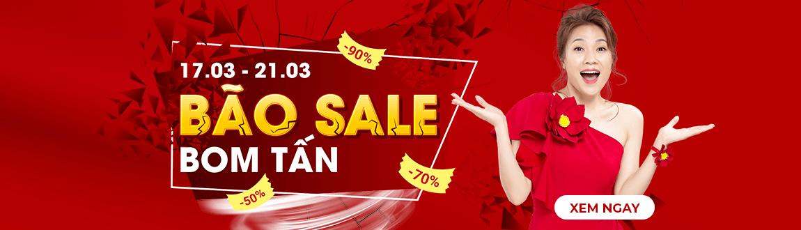 Bão Sale Boom Tấn Tại Sendo.vn