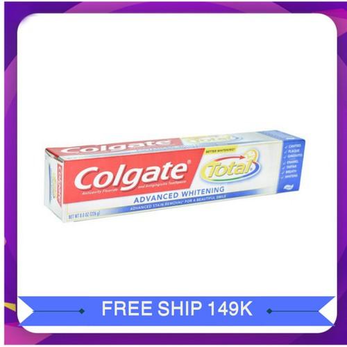 Kem đánh răng colgate total | kem danh rang colgate total xuất xứ Mỹ  226g