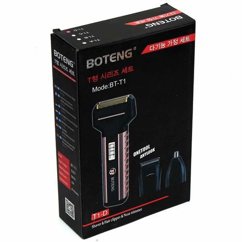 Tông đơ cắt tóc kiêm máy cạo râu đa năng - Botteng bt t1