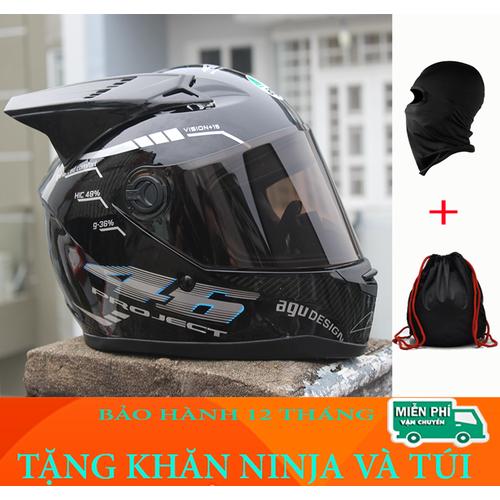 Nón bảo hiểm AGU fullface TEM BẠC gắn sừng Tặng khăn ninja và túi - 6585216 , 16642351 , 15_16642351 , 375000 , Non-bao-hiem-AGU-fullface-TEM-BAC-gan-sung-Tang-khan-ninja-va-tui-15_16642351 , sendo.vn , Nón bảo hiểm AGU fullface TEM BẠC gắn sừng Tặng khăn ninja và túi