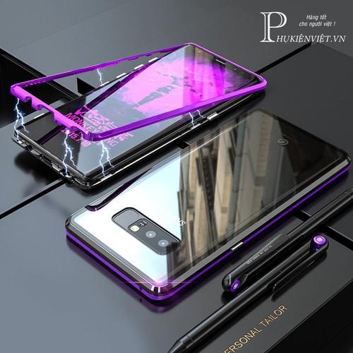 Ốp lưng kính viền kim loại cao cấp cho Samsung Note 8 - 4564523 , 16630035 , 15_16630035 , 259000 , Op-lung-kinh-vien-kim-loai-cao-cap-cho-Samsung-Note-8-15_16630035 , sendo.vn , Ốp lưng kính viền kim loại cao cấp cho Samsung Note 8