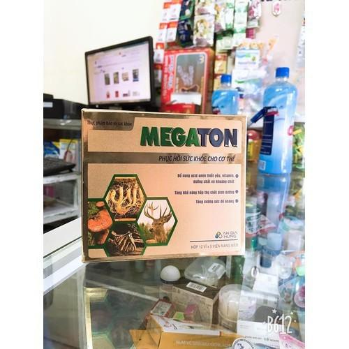 Megaton phục hồi sức khỏe cho cơ thể hộp 12 vỉ x 5 viên - 6586424 , 16643109 , 15_16643109 , 150000 , Megaton-phuc-hoi-suc-khoe-cho-co-the-hop-12-vi-x-5-vien-15_16643109 , sendo.vn , Megaton phục hồi sức khỏe cho cơ thể hộp 12 vỉ x 5 viên