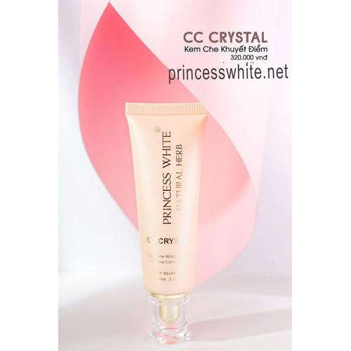 Kem chống nắng trắng da CC Make Up Princess White