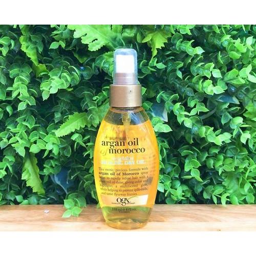 Xịt Dưỡng Tóc OGX Argan Oil Morocco Healing Dry Oil 118ML118ML