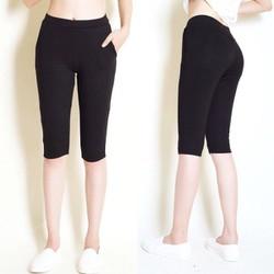 quần lửng nữ nâng mông cao cấp loại tốt hàng công ty