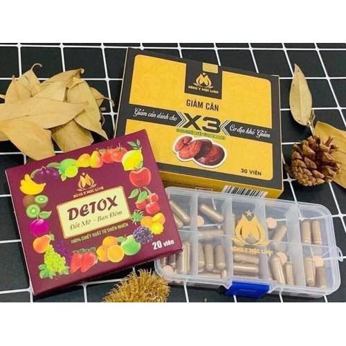 Giảm cân tan mỡ Detox X3 - 6560031 , 16624808 , 15_16624808 , 280000 , Giam-can-tan-mo-Detox-X3-15_16624808 , sendo.vn , Giảm cân tan mỡ Detox X3