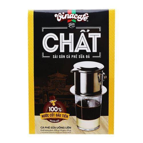 Cà phê sữa đá Vinacafe Chất hộp 10 gói x 29g