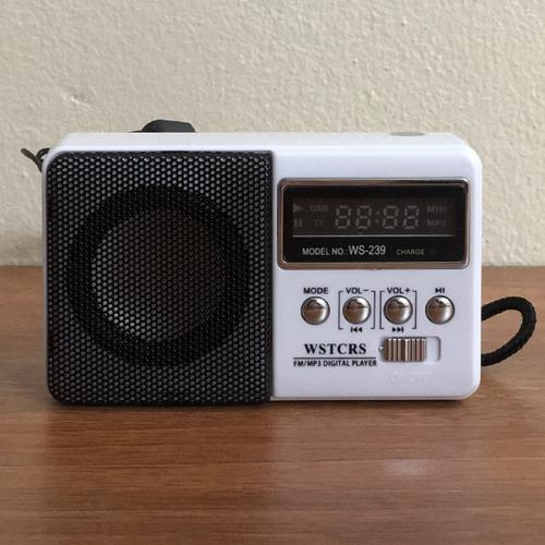 Đài radio mini nghe nhạc USB thẻ nhớ Đài FM WS-239 - 6583568 , 16641086 , 15_16641086 , 180000 , Dai-radio-mini-nghe-nhac-USB-the-nho-Dai-FM-WS-239-15_16641086 , sendo.vn , Đài radio mini nghe nhạc USB thẻ nhớ Đài FM WS-239