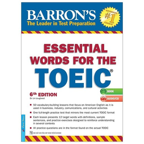Sách - ESSENTIAL WORDS FOR THE TOEIC 6TH KÈM CD - TÁI BẢN 2019 - 6563569 , 16626988 , 15_16626988 , 238000 , Sach-ESSENTIAL-WORDS-FOR-THE-TOEIC-6TH-KEM-CD-TAI-BAN-2019-15_16626988 , sendo.vn , Sách - ESSENTIAL WORDS FOR THE TOEIC 6TH KÈM CD - TÁI BẢN 2019