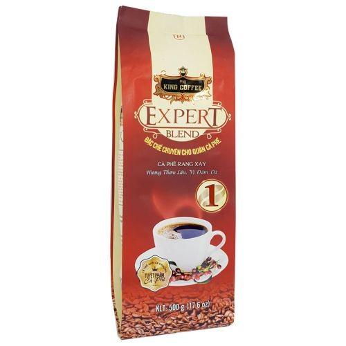 Cà phê rang xay Expert Blend 1 King Coffee gói 500g