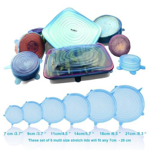 Bộ 6 miếng màng bọc thực phẩm silicon co giãn - 4742865 , 16644181 , 15_16644181 , 80000 , Bo-6-mieng-mang-boc-thuc-pham-silicon-co-gian-15_16644181 , sendo.vn , Bộ 6 miếng màng bọc thực phẩm silicon co giãn