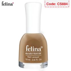 Sơn móng tay Felina 18ml - Màu Màu Café Sữa - Code CS884