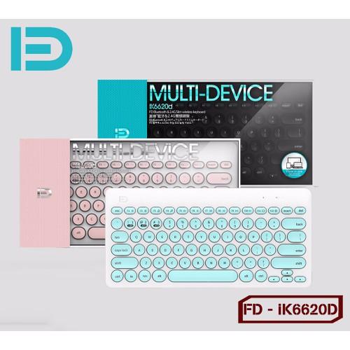 Bàn Phím chính hãng Bluetooth + Wireless FD - iK6620d - 6575370 , 16635008 , 15_16635008 , 375000 , Ban-Phim-chinh-hang-Bluetooth-Wireless-FD-iK6620d-15_16635008 , sendo.vn , Bàn Phím chính hãng Bluetooth + Wireless FD - iK6620d
