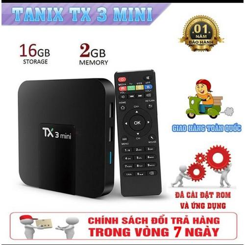 Tivu box TX3 mini Ram 2G Rom 16G