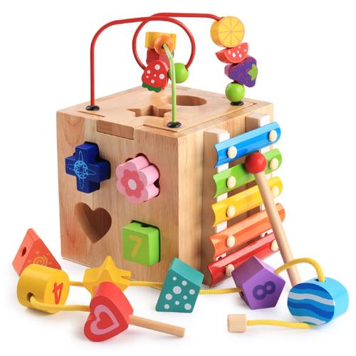 Đồ chơi gỗ thông minh bộ thả hình kết hợp luồn hạt, gõ đàn, nhận biết số và học xem giờ cho bé - 4740372 , 16636373 , 15_16636373 , 355000 , Do-choi-go-thong-minh-bo-tha-hinh-ket-hop-luon-hat-go-dan-nhan-biet-so-va-hoc-xem-gio-cho-be-15_16636373 , sendo.vn , Đồ chơi gỗ thông minh bộ thả hình kết hợp luồn hạt, gõ đàn, nhận biết số và học xem giờ