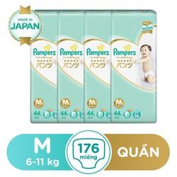 Bộ 4 Tã Quần Pampers Hàng Nhật Mega Box M44