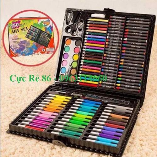hộp màu 150 chi tiết, bút màu, sáp màu, chì màu, màu nước - 6574859 , 16634878 , 15_16634878 , 259000 , hop-mau-150-chi-tiet-but-mau-sap-mau-chi-mau-mau-nuoc-15_16634878 , sendo.vn , hộp màu 150 chi tiết, bút màu, sáp màu, chì màu, màu nước