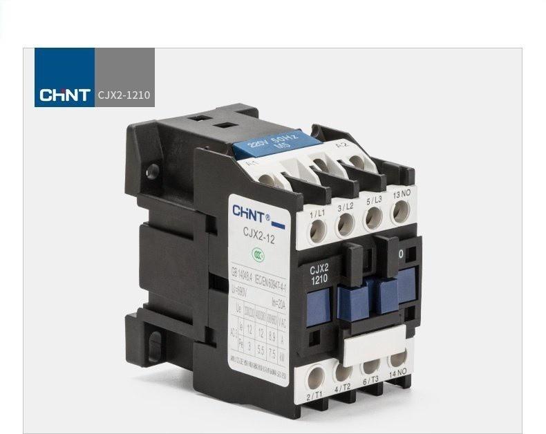 Khởi động từ AC contactor CHINT CJX2 1210 220V 380V 12A 1
