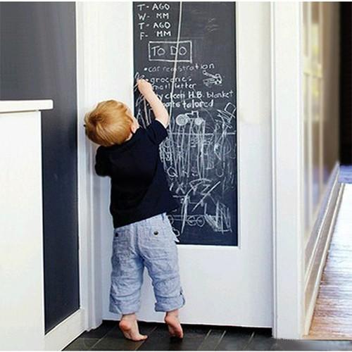 Bảng đen dán tường học tập 45x200cm