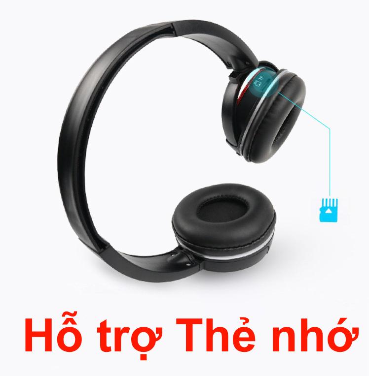 Tai nghe Bluetooth chính hãng  K2 tai nghe thẻ nhớ Hifi Đen PF152 3 trong 1 14
