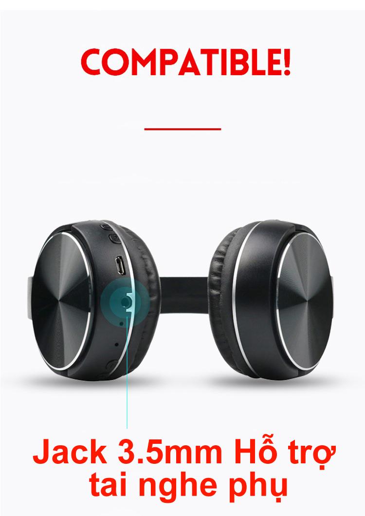 Tai nghe Bluetooth chính hãng  K2 tai nghe thẻ nhớ Hifi Đen PF152 3 trong 1 15