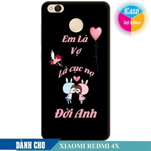 Ốp lưng nhựa cứng nhám dành cho Xiaomi Redmi 4X in hình Em Là Vợ Là Cục Nợ Đời Anh - 6569152 , 16630837 , 15_16630837 , 99000 , Op-lung-nhua-cung-nham-danh-cho-Xiaomi-Redmi-4X-in-hinh-Em-La-Vo-La-Cuc-No-Doi-Anh-15_16630837 , sendo.vn , Ốp lưng nhựa cứng nhám dành cho Xiaomi Redmi 4X in hình Em Là Vợ Là Cục Nợ Đời Anh